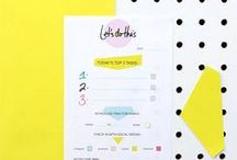 Printables / Free templates and printables from around the web to inspire and delight!  / by Pendaflex