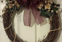 Grace Your Door / Beautiful, hand-crafted door wreaths made to order.