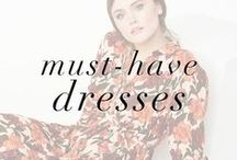 "Must-Buy Dresses Lookbook / Fresh up, the top 5 trend options for DRESSing that should be high on your ""Must Buy"" to-do list!"