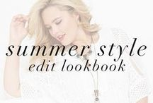 Summer Style Edit Lookbook / Whatever summer fun you have planned, fullbeauty.com's Style Edit has you covered!