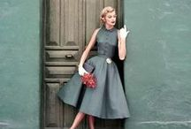 1950's Style / Style and fashion inspiration from the era of pin-ups and poodle skirts! Mid century fashion and style photos!
