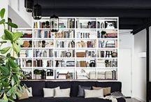 Shelves / Book Shelves / by Elaine Stillman Uehlein