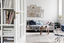 ◆ Livingroom ◆ / Livingroom decoration, styling, interiors. Scandinavian style.