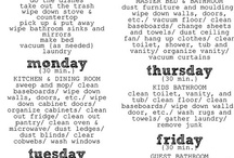 Cleaning and Organizing / by Evangeline Thompson