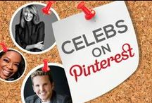 CELEBRITIES ON PINTEREST / #1 Source for finding celebrities on Pinterest. Find out which celebs are on Pinterest and easily follow their boards and interests.  / by Power of Pinterest Book