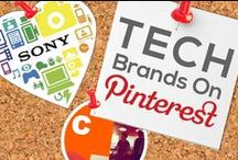 TECH BRANDS ON PINTEREST / by Power of Pinterest Book
