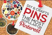 DIY & CRAFTS PINS — THE MOST POPULAR ON PINTEREST BY # OF REPINS / Any DIY & CRAFTS PIN that Achieves 1,000+ REPINS is Added to this Board, Making it Easier for You to Discover the Most Popular DIY and Crafts Pins on Pinterest — This Board is Your #1 Source to Keep Tabs On and Discover the Most Popular Images Circulating on Pinterest in this Category! — Please Follow this Board. We Work Hard Daily to Update it for your Enjoyment it and Share With You the Best Content & Most Popular DIY and Crafts Related Pins! : )  / by Power of Pinterest Book