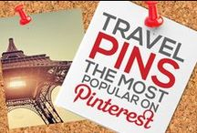 TRAVEL PINS — THE MOST POPULAR ON PINTEREST BY # OF REPINS / by Power of Pinterest Book