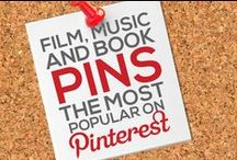 FILM, MUSIC, & BOOK PINS — THE MOST POPULAR ON PINTEREST BY # OF REPINS / Any FILM, MUSIC, OR BOOK RELATED PIN that Achieves 1,000+ REPINS is Added to this Board, Making it Easier for You to Discover the Most Popular Film, Music, and Book Pins on Pinterest — This Board is Your #1 Source to Keep Tabs On and Discover the Most Popular Images Circulating on Pinterest in this Category! — Please Follow this Board. We Work Hard Daily to Update it for your Enjoyment it and Share With You the Best Content & Most Popular Film, Music, and Book Related Pins! : )  / by Power of Pinterest Book