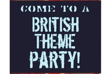 British-Themed Party Ideas