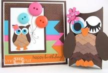Owl Cards, Boxes etc / by Frances Byrne