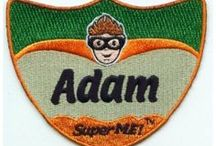 SuperME Personalized Patches / SuperME inter-changeable patches allow a child to get his/her name printed on a SuperME shield patch. / by SuperME