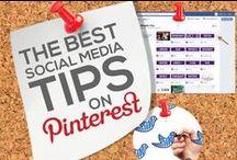 Best Social Media Tips on Pinterest / by Power of Pinterest Book