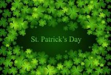 ST. PATRICK'S DAY / ST PATRICK'S DAY, IRISH, 4 LEAF CLOVER, LEPRECHAUNS / by ♔Queeniee♔ Northeast