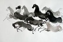 Art + Illustration / paint, pen, prints, and more / by Elaine Stillman Uehlein