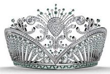 ♔CROWNS AND TIARAS♔ / ♔CROWNS TIARAS♔ BLING BLING! ... / by ♔Queeniee♔ Northeast