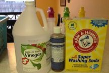Home Made Cleaners / Home made cleaning products are great for saving money and our environment