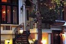 pretty streets and neighborhoods