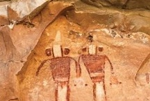 Rock Art and Desert Dwellings / Southern and Central Utah was the homeland to the Fremont Indians who lived near the rivers hunting, gathering and planting. Most of our trips offer up close access to these ancient architectural marvels giving a touchstone to the past. / by Holiday River Expeditions