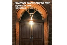 Quotes are better w/ pictures!  /  A meaningful quote can inspire and open the door to new possibilities and ways of looking at our surroundings.
