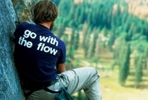 Go With The Flow! / GWTF. Take it easy. Don't worry. Be happy. Relax. Live in the minute. Love the one you're with. Live life fully. Do it! Experience everything. Have fun! Be Crazy!  Yep, Go With The Flow. It's our motto! / by Holiday River Expeditions