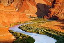 San Juan River Rafting / The San Juan River offers some of the most amazing landscape found anywhere. From rainbow colored canyon walls to polished limestone swimming pools, this region always surprises and delights its visitors. From the canyon rim, we have an endless vista of Monument Valley. You'll find the San Juan White Water Trip an unforgettable experience.