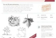 Stampin Up! Best of 25 Years  / Stamps Showcased Each Month to celebrate Stampin' Up! 25th year