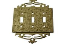 Brass Switch Plates  / SignatureThings.com provides you with premium quality brass switch plates with modern and elegant design. Crisply designed with durability to stylize your home. / by SignatureThings.com
