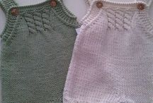 Baby knit and crochet / Inspiration / pattern