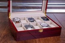 Jewelry Organizers / Keep your collection clean and organized with this variety of leather Gift cases. Use this case for yourself, gift to a significant other or business clients.
