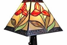 Tiffany Lamps - Floor, Wall, Ceiling & Table Lamps / Illuminate your area in style with decorative light fixtures - tiffany style table lamp, hanging lamp & ceiling lamps etc.