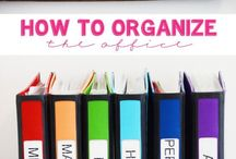 clean and organized / by Katherine Bone
