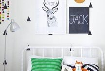 Boy's Rooms / Colorful Baby Boy Nursery or Play Room Ideas / by Deonna:  The Child at Heart Blog