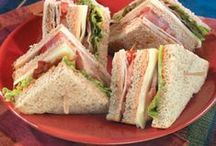 SANDWICHES & POTATO CHIPS / Lunch here I come / by Kit Shaw