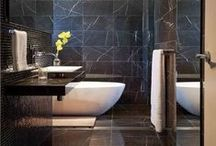 Modern bathrooms / Bathrooms with sleek modern fittings, finishes and layouts, as featured in Home Beautiful magazine. / by Home Beautiful magazine