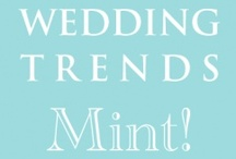 Hot Wedding Trends for 2013 - #1 The Color Mint / Hot Wedding Trends for 2013--This is 1 of 10 fashionable trends that will be shared every Wednesday (starting 5/30/12) over the next 10 weeks at www.3d-memoirs.com! You don't want to miss out on these fabulous wedding trend forecasts shared by guest blogger, Gail Oliver (OliverInk Etsy Shop)! View this post here: http://3d-memoirs.com/10-hot-wedding-trends-for-2013-1-mint