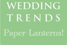 Hot Wedding Trends for 2013 - #3 Paper Lanterns / This is the 3rd of 10 of the hottest wedding trends for next year that will be shared every Wednesday at www.3d-memoirs.com! You don't want to miss out on these fabulous wedding trend forecasts shared by guest blogger, Gail Oliver (OliverInk Etsy Shop)! Please see more PAPER LANTERN IDEAS at bit.ly/LMyelb