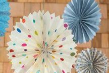 for party / decorations, ideas / by Tana Townsend