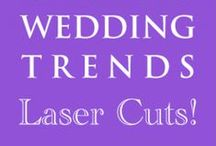 Hot Wedding Trends for 2013: #5 Laser Cuts / This is the 5th of 10 of the hottest wedding trends for next year that will be shared every Wednesday at www.3d-memoirs.com! You don't want to miss out on these fabulous wedding trend forecasts shared by guest blogger, Gail Oliver (OliverInk Etsy Shop)! Please see more Laser Cut ideas at http://bit.ly/LQTeVq
