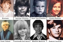 Before they were famous,then & now...lookalikes / by Michelle Donnelly