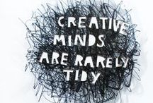 Artful Affirmations / Wise words and credos of creativity to draw, paint, sculpt, read, listen, sketch, look, and live by.