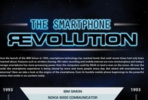 Infographics / Mobile phone technology moves fast. Here are our favourite infographics from the world of smartphones and beyond with the latest information on tech innovation.  / by Dialaphone