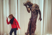 Rodin-agram / Strike a pose, art fans! Share on Instagram and Twitter with #ncartmuseum