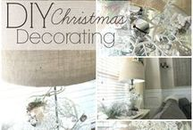 DIY Christmas Decorations / Planning a Christmas or Holiday party or just looking for ideas for DIY home decorations? Follow this board for inspiration, ideas, and a bunch of holiday DIY projects!
