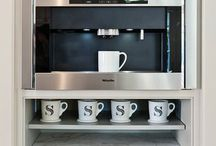 Coffee Stations / Cool ideas for coffee stations
