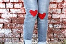 I ❤️ Hearts / Hearts are everywhere!   I love to wear them and decorate with them!   #hearts / by Deonna:  The Child at Heart Blog