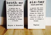 Brother/sister room / by Sara Davis