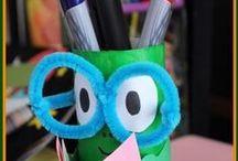 Kids Crafts Back to School