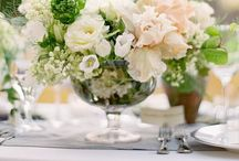 Centerpieces / Beautiful flowers for your table settings