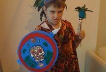 Kids Crafts Aztecs